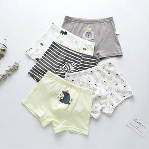 Yn6Ip FOB Tong Tong ku nei nei kuunderpants underpantsfive pieza de ropa interior de algodón puro de dibujos animados de los niños de los niños boysunderwear boxeador sho