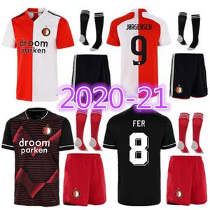 Feyenoord 2021 Soccer Jersey Away Berghuis Fer jorgensen Narsingh Bozenik 20 21 Men Kity Kit Kit Kit Thailand Football Kit