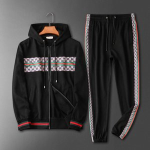 Men Running Tracksuit Sweat Suits see Autumn Mens Fashion Tracksuits Jogger Suits Jacket Pants Sets Sporting Suit Print men sportswear