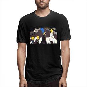 Cotton Os Simpsons desenhador de moda camisas camisas das mulheres dos homens de manga curta Camisa O c3502 Simpsons Impresso camisetas Causal
