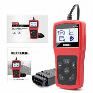 V319 Auto Scanner Tool EOBD OBD2 Multi Language Diagnosemotorstörungscode-Leser IQSE #
