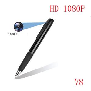 perakende kutusu ile 8GB 16GB 32GB HD Mini Kamera kayıt kalem V8 Taşınabilir mini kalem Dijital Ses Video Kaydedici