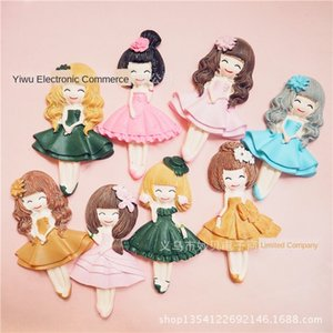 Photo Frame ballet girl patch DIY mobile DIY accessories phone shell material refrigerator sticker accessories