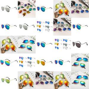 Girl Colorful Reflective Yurt Baby Boy Sunglasses Gafas De Sol Occhiali Vista Bambino Lunette De Soleil Ado beidiensport bhdps
