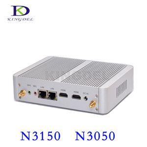 NC690 14nm affaires PC Dual Core i3 6006U 7100U Mini Quad Fanless N3150 Intel NUC avec 2 * 2 * HDMI LAN HD 4K Bureau