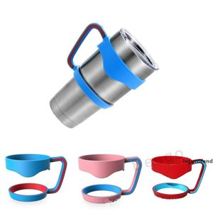 Portable 30 ounce Handles Holder For 900ml & 600ml Tumbler Vacuum Mugs Stainless Steel Insulated 20oz Coffee Cup Drinkware Handle DBC BH2722