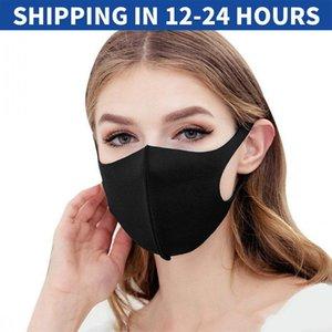 2020 Anti-Poeira Cotton Mouth Máscara Facial máscaras pretas de protecção Unisex descartável máscara da mulher do homem vestindo o rosa azul Moda
