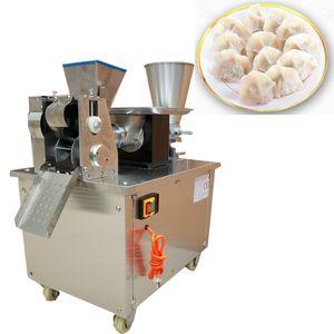 2020 HOT LBJZ-80 en acier inoxydable Meilleur prix fabricant automatique samosa empanada machine gyoza congelé Dumpling Machine de fabrication