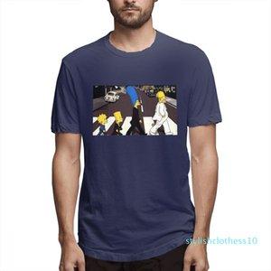 Coton Les Simpsons Mode Chemises Designer Femme Chemises Hommes manches courtes T-shirt Simpsons T-shirts imprimés causales c3511s10