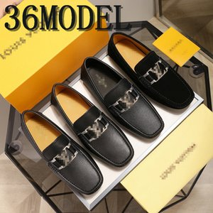 21FF Men Shoes Leather Loafers Casual Shoes Mens Flats Moccasins Soft Slip on For Men Loafers Driving Shoes Male Horsebit Loafer Men 38-45