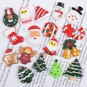 10 30pcs Mixed Resin Merry Christmas Series Flatback Cabochon Embellishments Scrapbook Decor DIY Craft X4YD