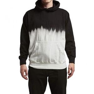 Nero Hoodie Uomini Felpa Plus Size Streetwear da uomo con cappuccio Harajuku Hoody Abbigliamento Maschi oversize Top Costume Pullover