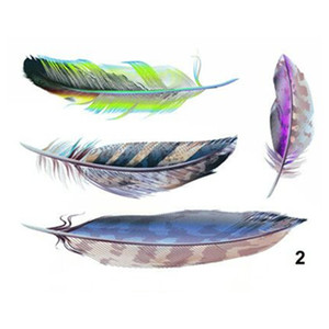 New Car Stickers 3D scratch decoration DIY simulation feather Car Covers Skateboard Bmw Mercedes Motorcycle Bike Laptop Jeep car accessories