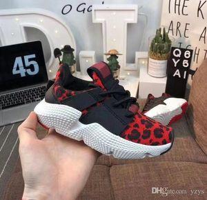 Дети Huarache обувь для малышей Infant Prophere Leopard малышей Идущих кроссовки chaussure де спорт налить Enfant Мальчиков тренера Huarache Sneaker