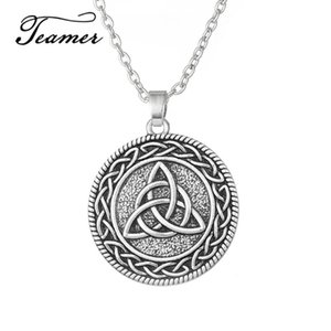 Teamer Gothic Slavic Pendant Necklace Goth Pendant & Necklace Talisman Wicca Jewelry Best Festival Gift for Man