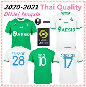 2020 2021 КАК Саин-Этьенн футбол Джерси дом вдали 20 21 АОИТБ St Etienne ХАЗРИ 10 Кабелле 7 BOUANGA PALENCIA HAMOUMA футбол Джерси рубашка