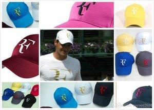 neuer Roger Federer RF Tennis Fans Baseball-Kappe Summer Cool Caps Männer Frauen Adjustable Unisex Adult Kühlen Net Mützen
