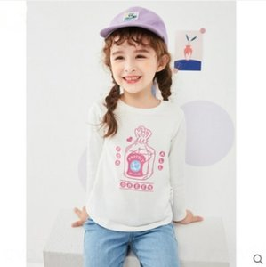 ywLF7 Product Balabala clothing T- cotton girl's Children T-shirt Top children's clothing top autumn long-sleeved baby children's base shirt