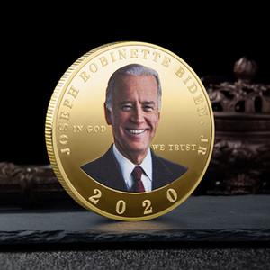 بايدن خطاب التذكارية عملة الأمريكية الرئيس ترامب 2020 عملات مجموعة الحرف بايدن الرمزية حافظ على عملات أمريكا العظمى