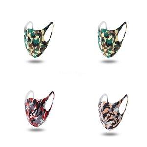 Impresión de la flor Breatable protección segura Famask Famask Fa Fa Maskswasable Y-Mask-Wasable # 599