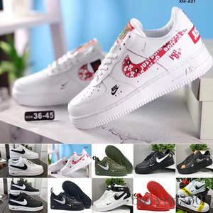 Air Force 1 One Af1 Wholesale 10X Forces Low Airs Cushion 1 One Running Shoes for Men The Pure White Sports Trainer Women Designes Shoes US5.5-11 WE-6K