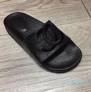 Zapatos del deslizador de los hombres SIKETU antideslizante de lino Inicio cubierta Baño de punta abierta zapatos de los planos Zapatillas Diapositivas de playa Calzado Zapatos de l11
