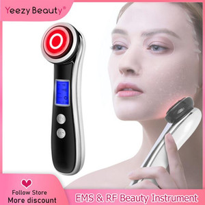2020 New RF&EMS Radio Frequency for Electric LED Photon Light Therapy Skin Rejuvenation Face Lifting Tighten Massage Beauty Care Machine