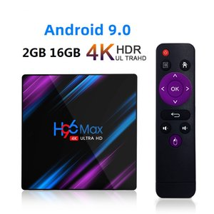 H96 Max Android 9.0 TV Box RK3318 2 GB 16 GB Quad Core 2.4G / 5G WiFi BT 4.0 Smart Box TV