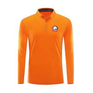 Designer Ligue Lille LOSC Polo camisas de Futebol camisa de futebol Polo Lille LOSC longa polo manga tshirt Futebol Polos Fãs Tops