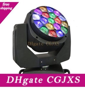 DMX512 Led faisceau mobile tête yeux Bee 19 X 15W RGBW 4 en 1 Led B -Eye 19 K10 Stage Light Llfa