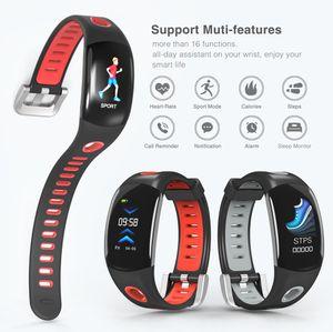 оптовые DM11 Смарт браслет IP68 водонепроницаемый браслет Heart Rate Monitor спортивные часы Смарт цветной ЖК-экран для IOS Android