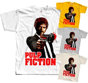 펄프 픽션 (Pulp Fiction) V14 Q.Tarantino 포스터 1994 T 셔츠 화이트 모든 크기 S로 5XL