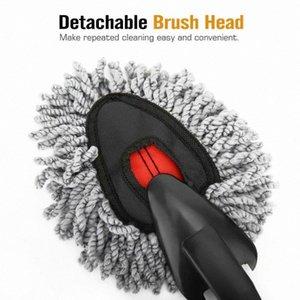 Oto Yıkama Temizleme Fırçası Süper Yumuşak Mikrofiber Toz Aracı Duster Toz Mop Ev Duster Detay Temizlik Aracı 7p6T #
