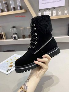 Explosion snow boots imported wool plus velvet warm boots international  designer fashion non-slip winter women s boots size 34-40