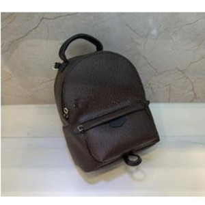 Trasporto libero! Fashion Palm Springs Zaino Mini Genuine Leather Bambini Backpack Donne Stampa Leather Pelle
