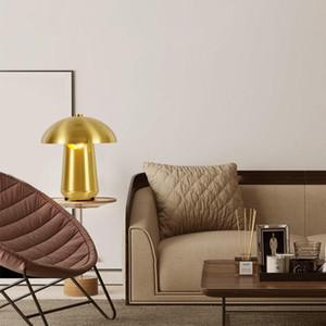 Modern nordic table lights Retro Vintage desk Lamp E27 Loft for bedroom beside lamp gold black fixture