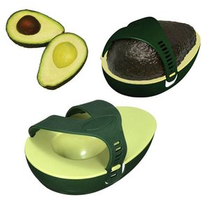 Green Avocado Storage Box Stay Fresh Leftover Half Plastic Keeper Holder Box Kitchen Gadget for Save Storage Container