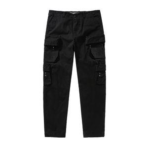Pietra Pirati 20fw primavera e l'autunno di nuovo stile multi tasca dei pantaloni stile abiti da lavoro in cotone da uomo