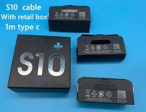 DHL 100ocs / lot Tipo C Cavo dati 1m 3ft OEM qualità veloce di carico del caricatore del cavo per Samsung Galaxy S10 S10e S9 S8 Note9 EP-DG970BBE con la scatola