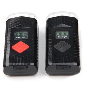 Neuer Eintrag-Selbstfahrscheinwerfer USB-Lade Mountainbike Scheinwerfer Horn Fahrradbeleuchtung Fahrradreitausrüstung