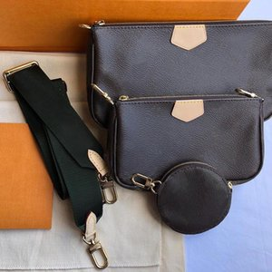 Top sac à main de qualité MULTI POCHETTE ACCESSOIRES sac porte-monnaie sac à main bandoulière sac à main de véritables sacs à bandoulière de combinaison sac design