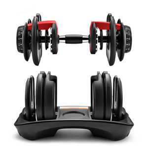 In Stock Fitness Dumbbells Weight Adjustable Dumbbell 5-52.5lbs Workouts Tone Your Strength And Build Your Muscles New
