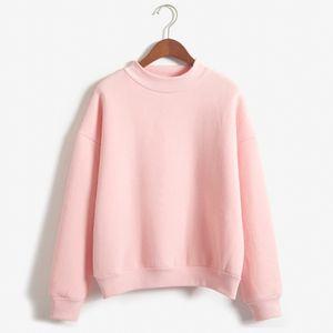 Frauen-Hoodies Hip Hop Maxi-Pullover Plain Blank Sportswear Sweatshirts