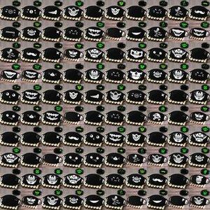 Breath Grimasse Halbmaske Schädel Glow Skeleton Gesicht Breath Grimasse Fashionmia Verkauf Schönheit und beste Schnelle Lieferung uvFPJ Maske Lächeln