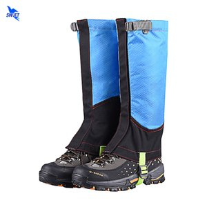 2 Pcs / lot Unisex Waterproof Neve Legging polainas Poeira Capa Leg Camping Caminhadas Ski viagem Bota Hunting Shoe Climbing