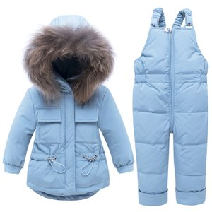 Childrens Designer Down Jacket Bambini Marca Dot Stampa Imposta Boy Spesso Zipper Set Piumino Top + i pantaloni della Moda Abbigliamento Setss Top Quanlity