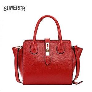 New Women Leather Bags luxury handbags women bags designer cowhide leather shoulder bag for