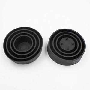 Auto LED Headlight coperchio antipolvere di gomma HID doppio trave gomma universale regolabile antipolvere impermeabile di copertura Seal Dust Cap