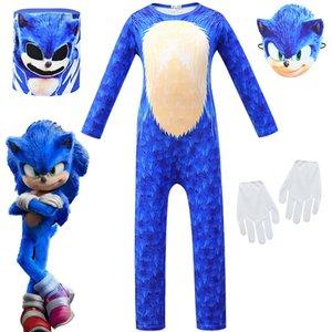 Cosplay Sonic the Hedgehog di Sonic the Hedgehog spettacolo per bambini costume di Halloween 451 Abbigliamento bambino cosplay bambini