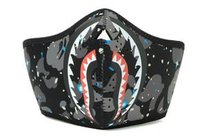 Espaço Shark máscara camo face máscaras ao ar livre Máscaras de rosto Manter Warm Windproof